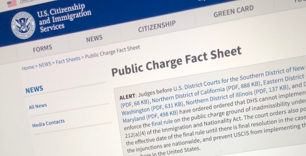 Public Charge Fact Sheet